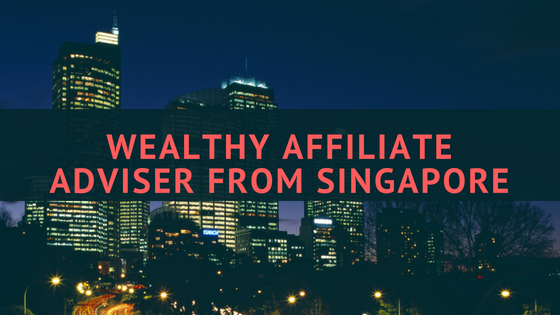Wealthy Affiliate Adviser From Singapore
