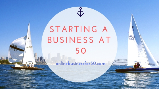Starting a business at 50