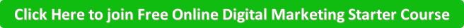 Free Online Digital Marketing Starter Course